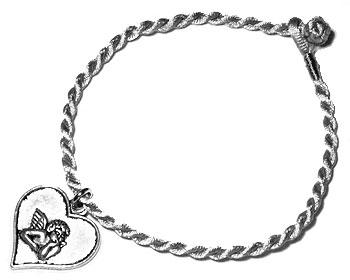 Trådarmband online. Längd 16-17 cm.