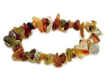 Snyggt armband i agater som kan bäras till vardags eller till fest.