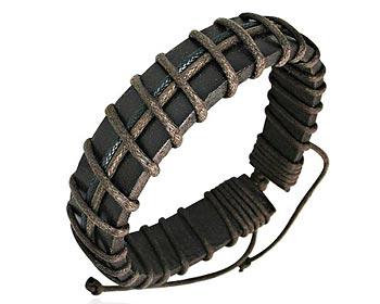 Armband i läder.