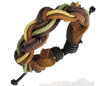Armband i läder online