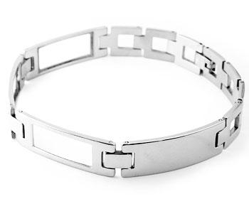 Armband online. Längd cirka 22.5 cm, bredd cirka 12 mm.