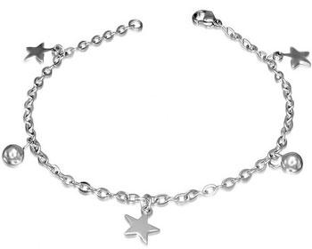 Armband med stjärnor.