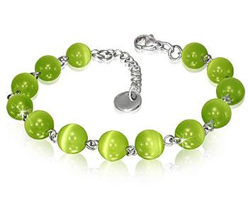 Grönt armband.