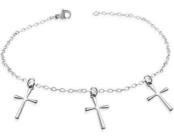 Armband med kors.