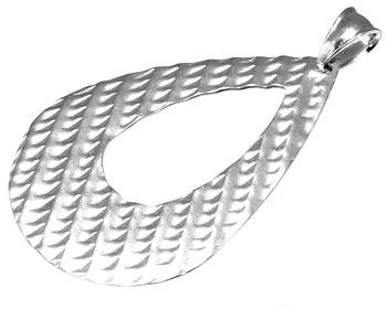 Stort hänge i stål.