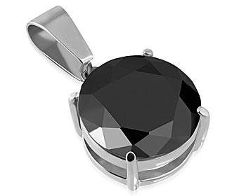 Smycke i stål. Diameter cirka 16 mm.