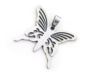 Fjärilshänge. Hänget är cirka 3.5x3.5 cm.