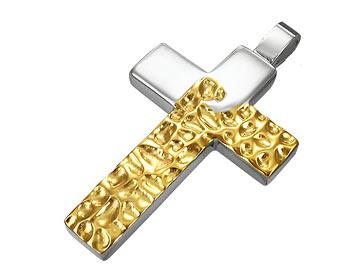 Korshänge till halsband. Korsets storlek cirka 4x2.7 cm.