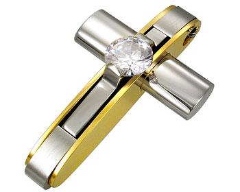 Smyckeskors. Mått cirka 38 x 23 mm.