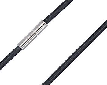 2 mm läderhalsband till hänge.