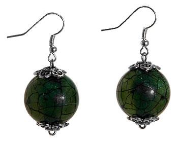 Gröna örhängen från Atinmood