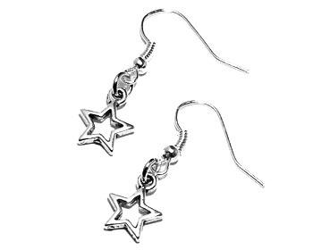 Stjärnörhängen, Atinmood. Längd cirka 3 cm.