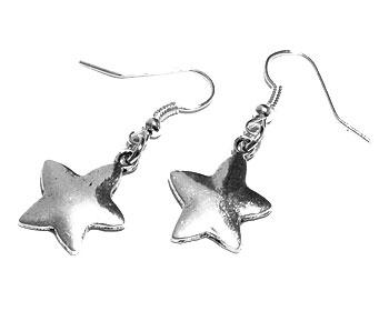 Stjärnörhängen på nätet från Atinmood. Längd cirka 4 cm.