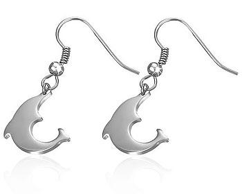 Delfinörhängen.