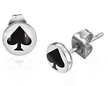 Spader-örhängen.