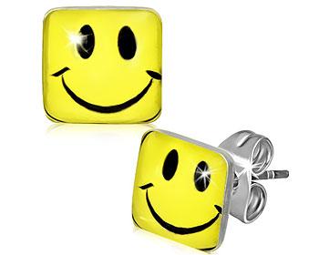 Smiley-örhängen.