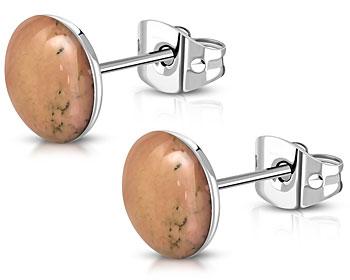 Stålörhängen. 10 mm.
