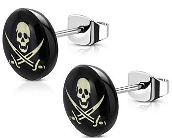 Piratörhängen. 10 mm.