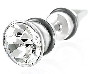 Piercingsmycke i 316L stål. Tjocklek ca 1,2 mm. Längd ca 5 mm.