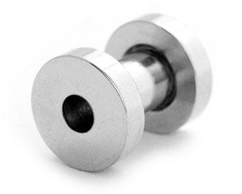 Tunnelsmycke till piercing 4 mm.