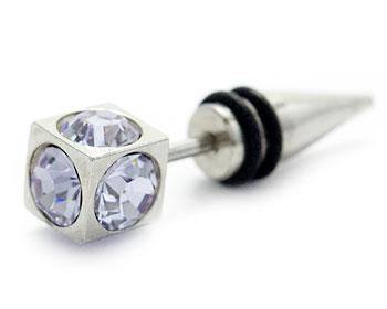 Lila fejk piercing online. tjocklek cirka 1.2 mm, längd cirka 6 mm. Totallängd cirka 27 mm.