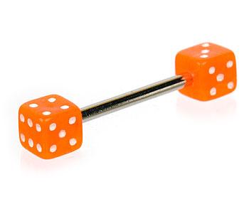 Barbell online i kirurgiskt stål. Tjocklek 1.6 mm, längd 15 mm.