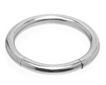 BCR på nätet. Mått cirka 1,6x11 mm. Kirurgiskt stål.