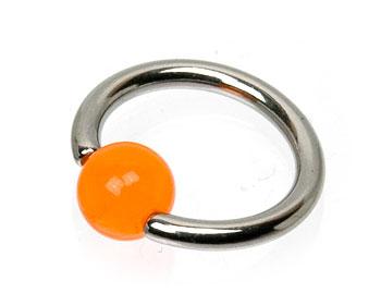 Ring piercing.