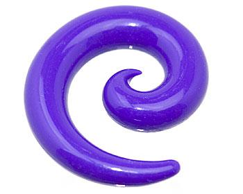 Spiral piercing.