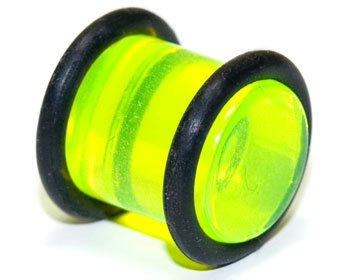 Plugg i akryl, 10mm