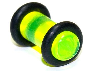 Plugg i akryl, 5mm