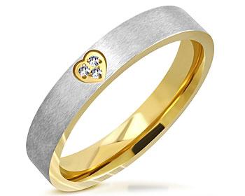 Smal ring i stål. Bredd cirka 4 mm.